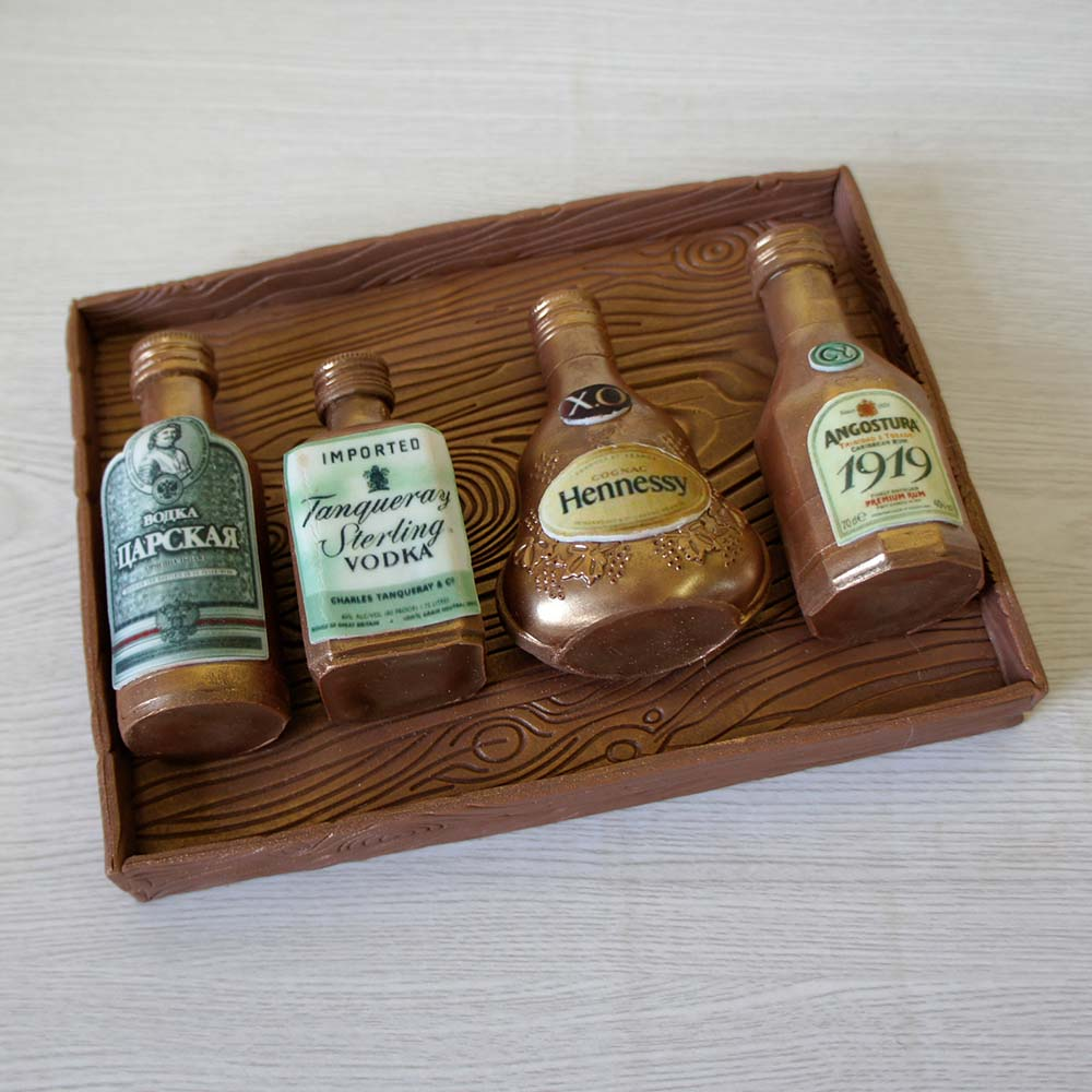 Коллекция мини - бутылочек № 1