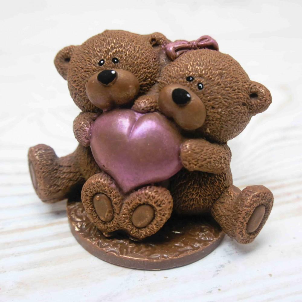 """Шоколадная фигурка """"Влюбленные мишутки"""""""