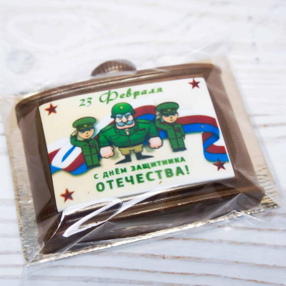 Фигура шоколадная «Фляжка малая»