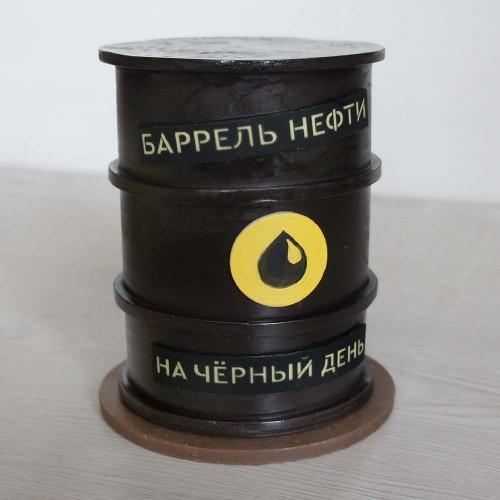 """Шоколадная фигура """"Баррель Нефти"""""""