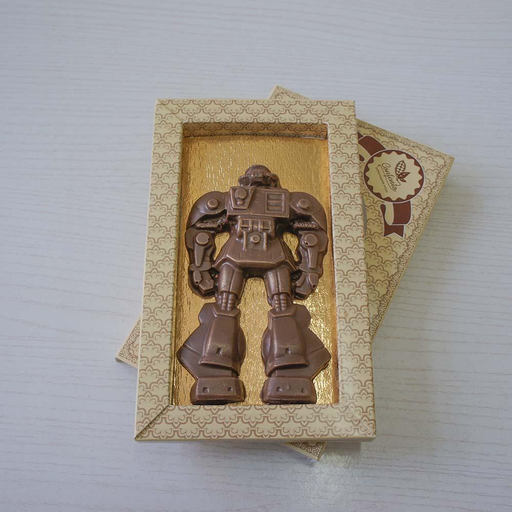 """Фигура шоколадная """"Робот № 2"""""""