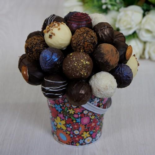 Букет из конфет ручной работы №1