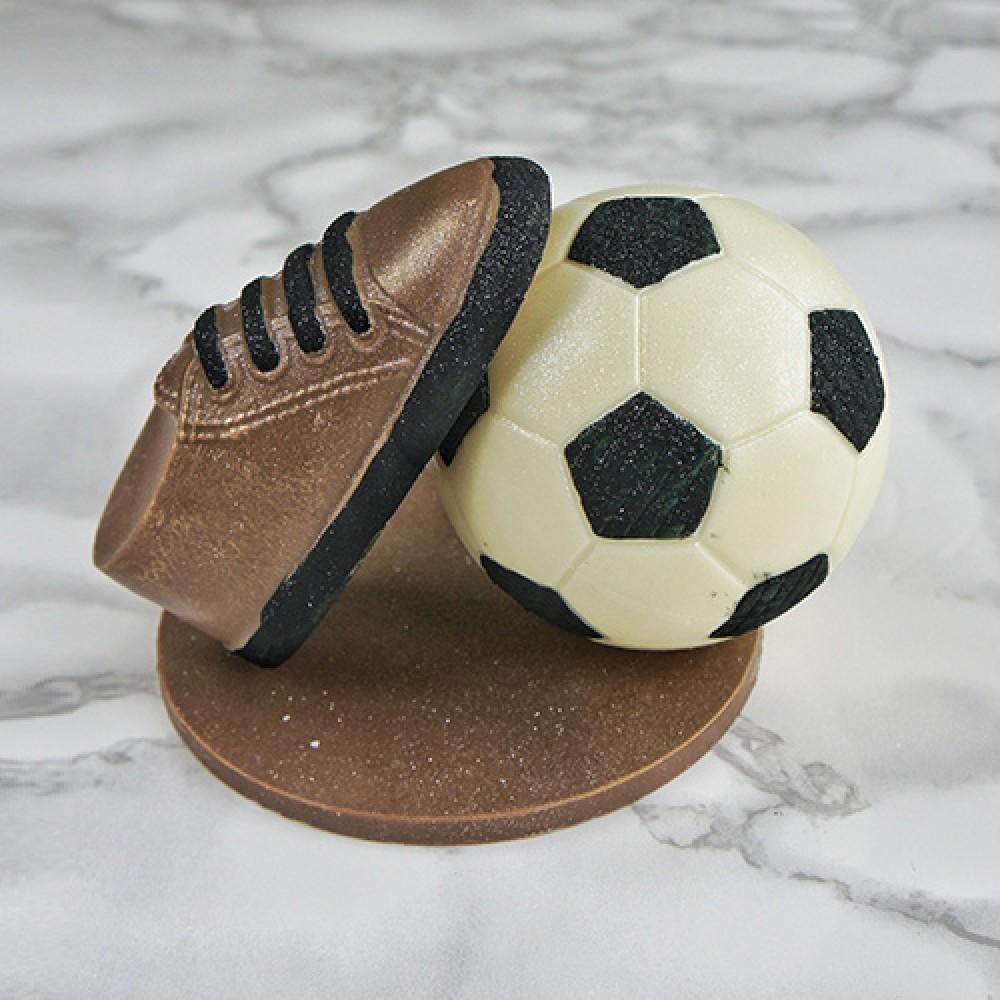 """Фигура шоколадная """"Бутса с мячом"""""""