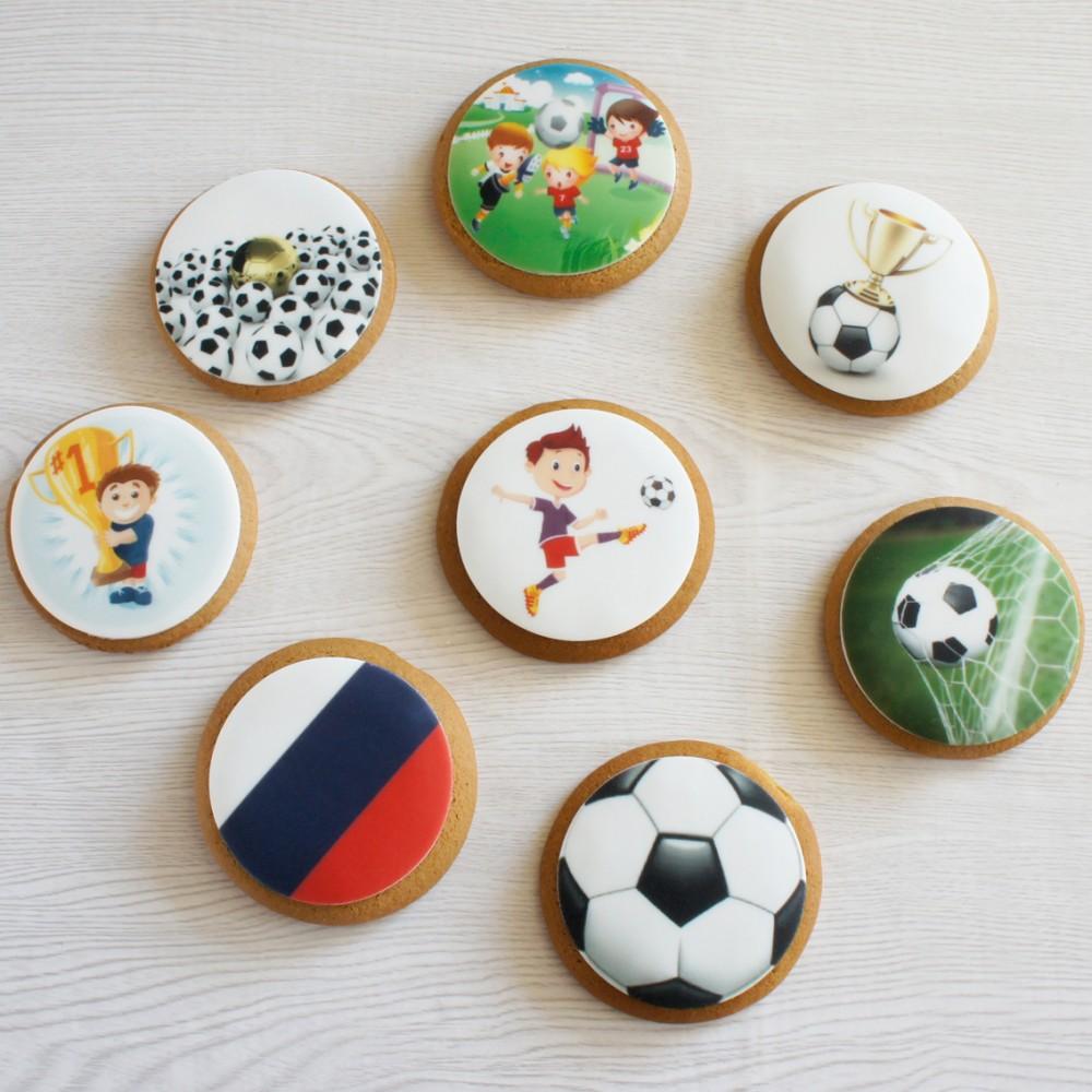Пряники с футбольной тематикой