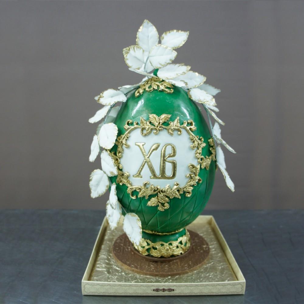 """Яйцо пасхальное """"ХВ"""""""
