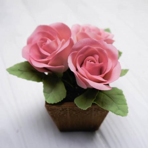 """Сладкий букет """"Розовые розы"""""""