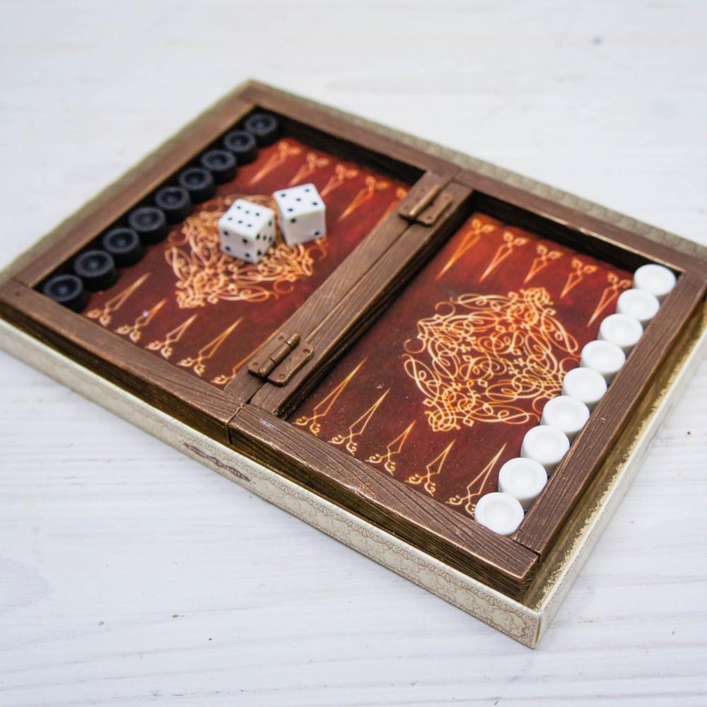 Шоколадные нарды Мини