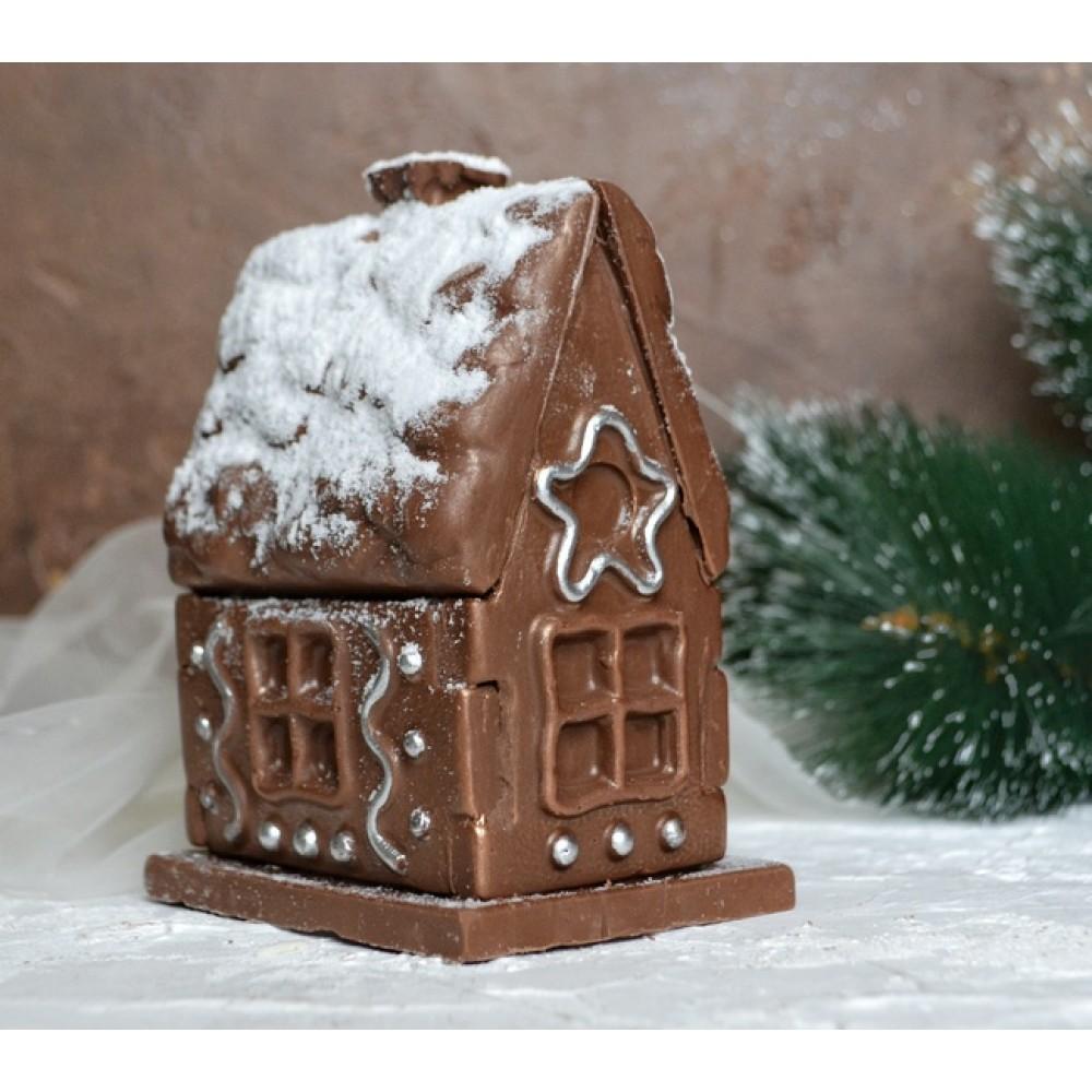 """Шоколадный """"Новогодний домик"""""""