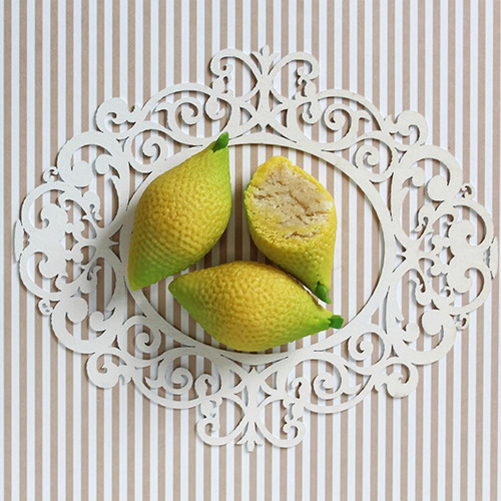 """Конфета марципановая """"Лимон"""""""