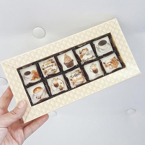 Шоколадные наборы с печатью изображения