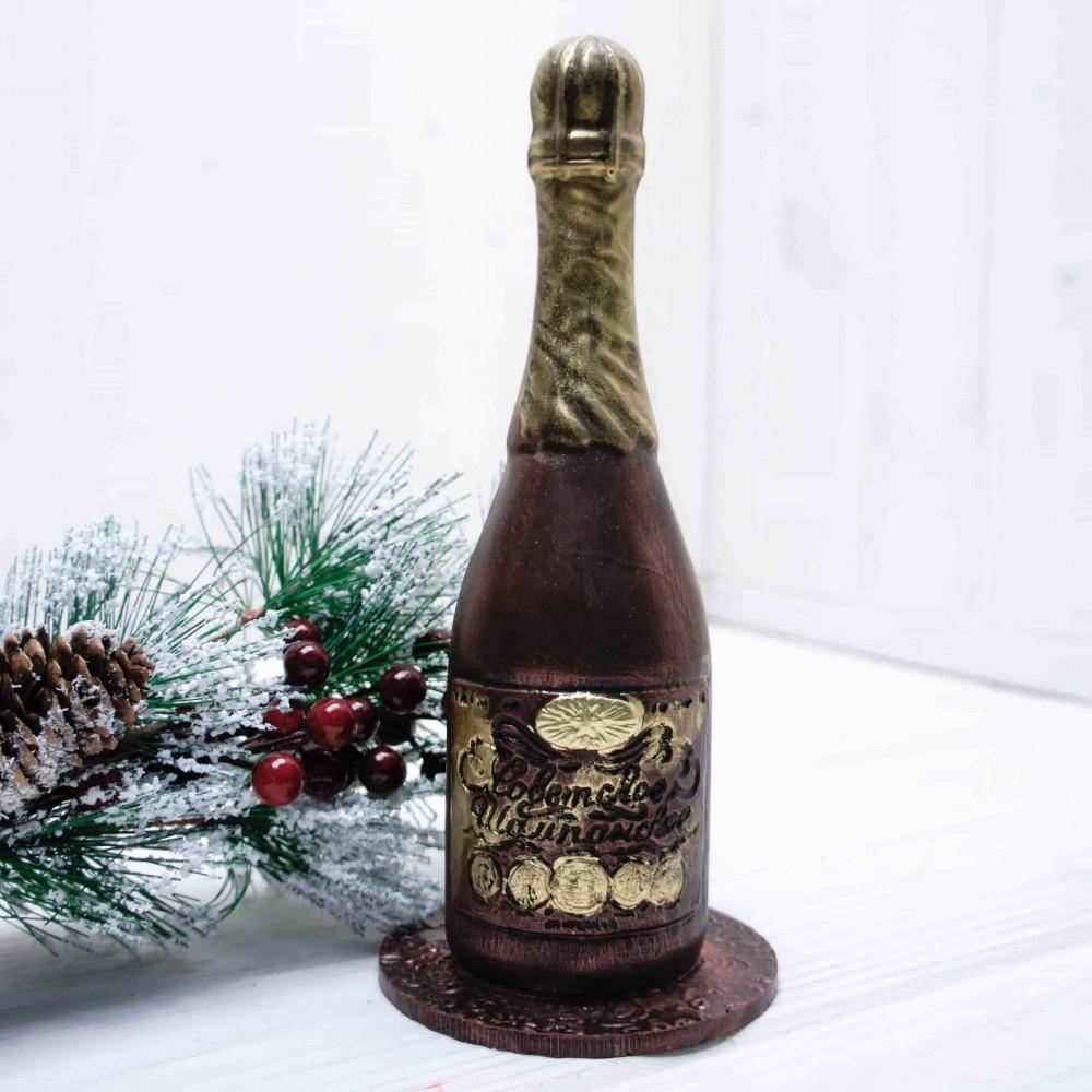 """Шоколадная фигура """"Бутылка Шампанского"""""""