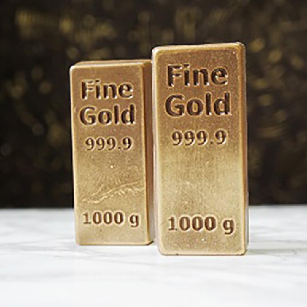 Слиток золотой