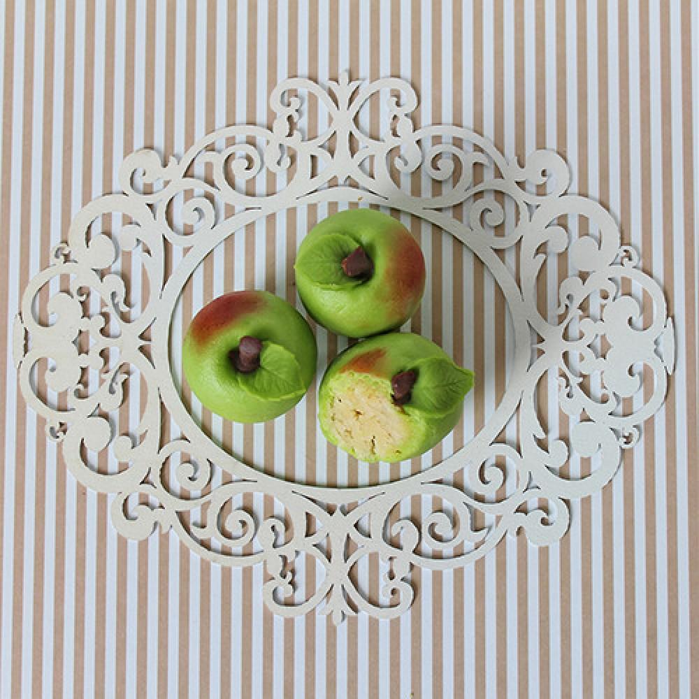 """Конфета марципановая """"Зеленое яблоко"""""""