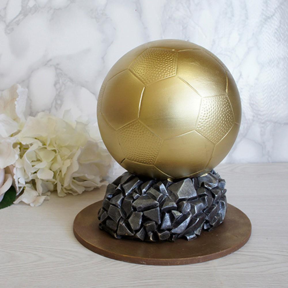 """Фигура шоколадная """"Золотой мяч"""""""
